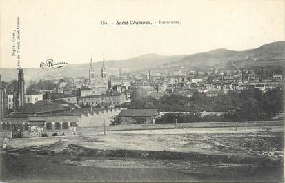 "CPA FRANCE 42 ""Saint Chamond, panorama"""