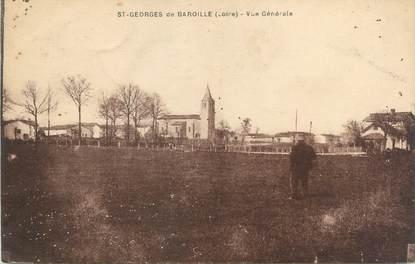 """CPA FRANCE 42 """"Saint Georges de Baroille, vue générale"""""""