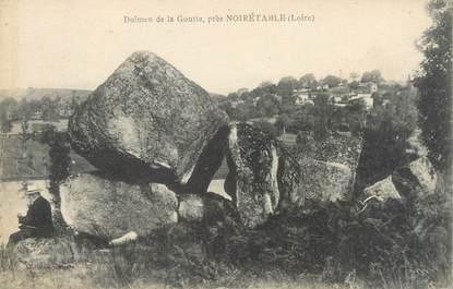 """CPA FRANCE 42 """"Noiretable, dolmen de la Goutte"""""""