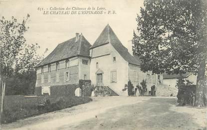 """CPA FRANCE 42 """"Le Château de L'Espinasse"""""""