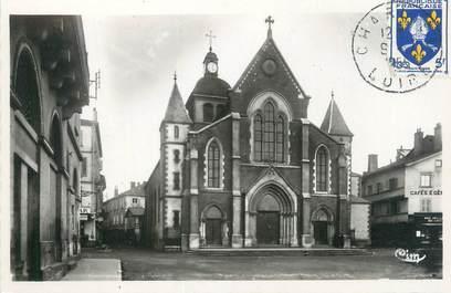 """CPSM FRANCE 42 """"Charlieu, église paroissiale de Saint Philibert"""""""