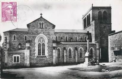 """CPSM FRANCE 42 """"Crémeaux, l'église et son vieux clocher"""""""