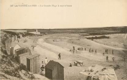 "CPA FRANCE 56 ""La Trinité sur Mer, la grande plage"""