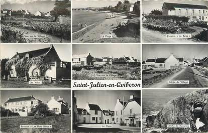 """CPSM FRANCE 56 """"Saint Julien de Quibéron"""""""