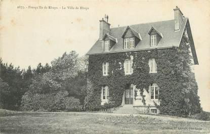 """CPA FRANCE 56 """"Presqu'ile de Rhuys, la villa de Rhuys"""""""