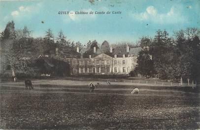 """CPA FRANCE 56 """"Quily, château de Comte du Caste"""""""