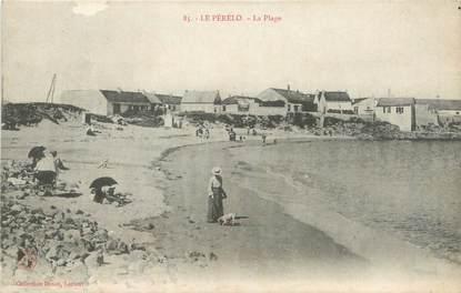 """CPA FRANCE 56 """"Le Pérélo, la plage"""""""