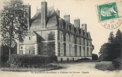"""CPA FRANCE 56 """"Mauron, château de Ferron"""""""