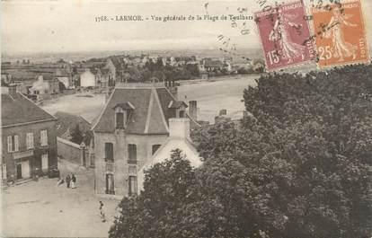 """CPA FRANCE 56 """"Larmor, vue générale de la plage de Toulhars"""""""