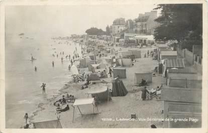 """CPSM FRANCE 56 """"Larmor, vue générale de la plage"""""""
