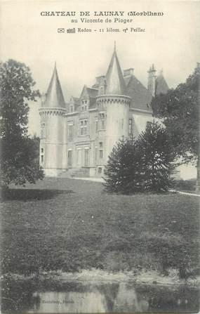 """CPA FRANCE 56 """"Château de Launay"""""""