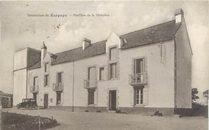 """CPA FRANCE 56 """"Sanatorium de Kerpape, pavillon de la direction"""""""