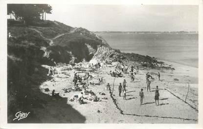 """CPSM FRANCE 56 """"Kerhostin, la plage sur la baie"""""""
