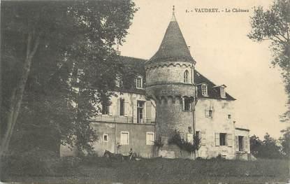 """CPA FRANCE 39 """"Vaudrey, le château"""""""