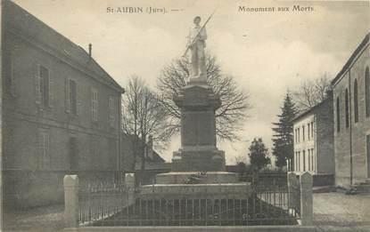 """CPA FRANCE 39 """"Saint Aubin, monument aux morts"""""""