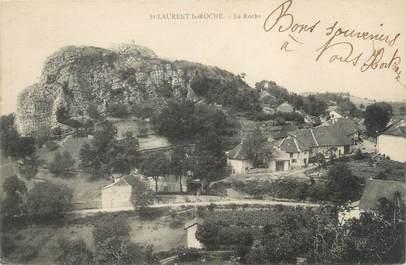 "CPA FRANCE 39 ""Saint Laurent la Roche, la Roche"""