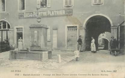 """CPA FRANCE 39 """"Saint Amour, passage des deux portes"""""""