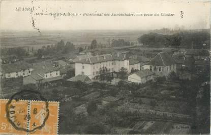 """CPA FRANCE 39 """"Saint Amour, pensionnat des Annonciades"""""""