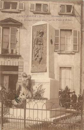 """CPA FRANCE 39 """"Saint Amour, monument aux morts"""""""