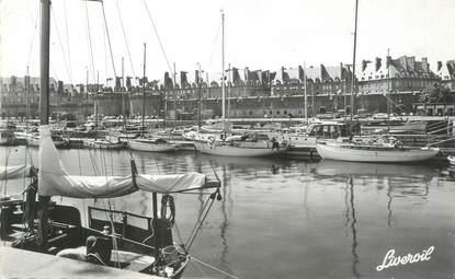 """CPSM FRANCE 35 """"Saint Malo"""" / BATEAU / CARTE PUBLICITAIRE"""