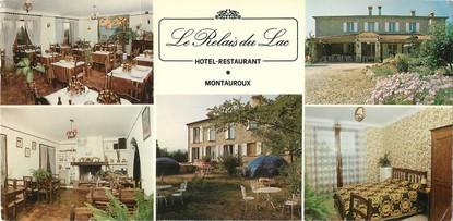 """CPSM FRANCE 83 """"Fayence, hôtel restaurant le Relais du Lac"""""""