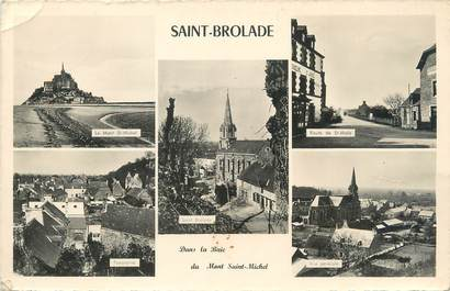 "CPSM FRANCE 35 ""Saint Broladre"""