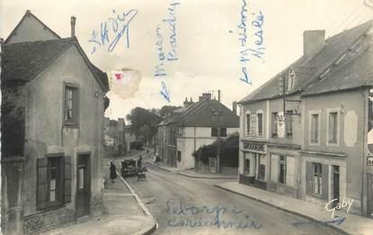 """CPSM FRANCE 35 """"Saint Méen Le Grand, rue de Merdrignac"""""""