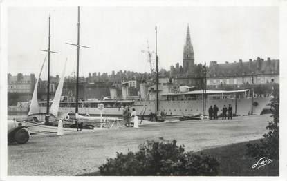 """CPSM FRANCE 35 """"Saint Malo, port des Yachts"""""""
