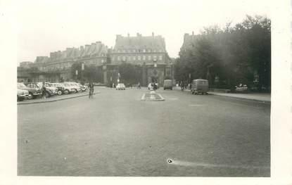 """CPSM FRANCE 35 """"Saint Malo, les remparts et la porte Saint Vincent"""" / DOS NON CP"""