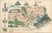 """57 Moselle CPA FRANCE 57 """"Metz"""" / CARTE GEOGRAPHIQUE"""