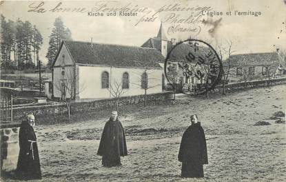 """CPA FRANCE 57 """"Phalsbourg, l'église et l'ermitage"""""""