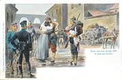 """57 Moselle CPA FRANCE 57 """"Jouy aux Arches, scène de la guerre 1870"""""""