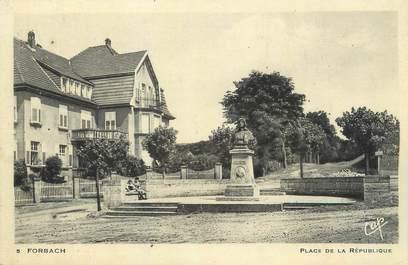 """CPA FRANCE 57 """"Forbach, place de la République"""""""