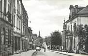 """57 Moselle CPSM FRANCE 57 """"Algrange, l'hôtel de ville et la rue Foch"""""""