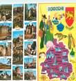 """24 Dordogne CPSM LIVRET FRANCE 31 """"La Dordogne"""""""