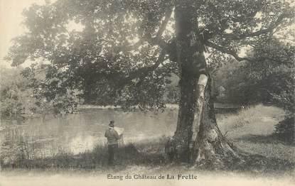 """CPA FRANCE 38 """"Etang du château de La Frette"""""""