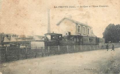 "CPA FRANCE 38 ""La Frette, la gare et l'usine Couturier"""
