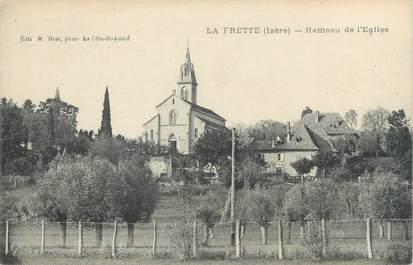 """CPA FRANCE 38 """"La Frette, hameau de l'église"""""""