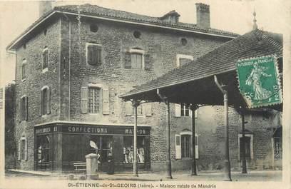 """CPA FRANCE 38 """"Saint Etienne de Saint Geoirs, maison natale de Mandrin"""""""