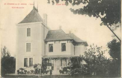 """CPA FRANCE 38 """"Saint Etienne de Saint Geoirs, villa Michallet"""""""