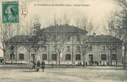 """38 Isere CPA FRANCE 38 """"Saint Etienne de Saint Geoirs, groupe scolaire"""""""