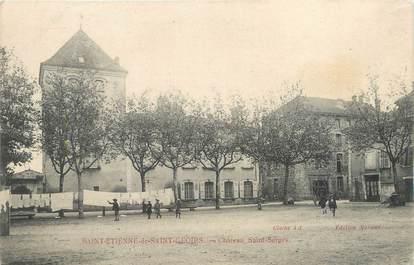"""CPA FRANCE 38 """"Saint Etienne de Saint Geoirs, château Saint Serge"""""""