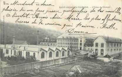 """CPA FRANCE 38 """"Saint Geoire en Valdaine, l'usine de Champet"""""""