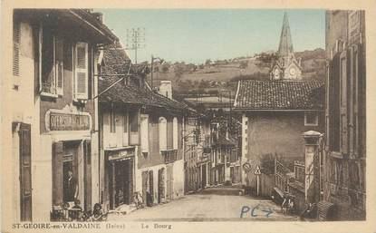 """CPA FRANCE 38 """"Saint Geoire en Valdaine, le bourg"""""""