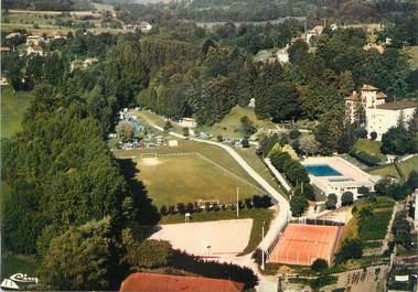 """CPSM FRANCE 38 """"Saint Geoire en Valdaine, terrain de sports, piscine et camping"""""""