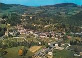 """38 Isere CPSM FRANCE 38 """"Saint Geoire en Valdaine, vue générale aérienne, au fond le domaine de Cotagon"""""""