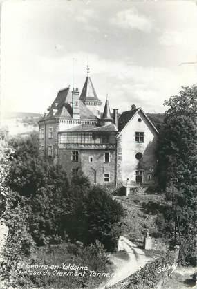 """CPSM FRANCE 38 """"Saint Geoire en Valdaine, château de Clermont Tonerre"""""""