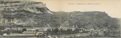 """CPA PANORAMIQUE FRANCE 01 """"Nantua, panorama et le Mont"""""""