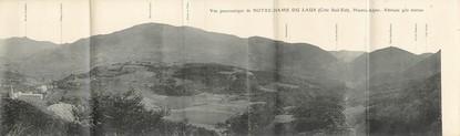 """CPA PANORAMIQUE FRANCE 05 """"Notre Dame du Laus, vue panoramique"""""""