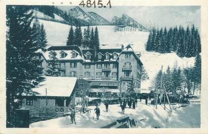 """CPA FRANCE 38 """"Saint Pierre de Chartreuse, l'hôtel du grand Som en hiver"""""""